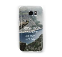 Not all those who wander 25 Samsung Galaxy Case/Skin