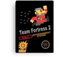 Team Fortress 2 - NES Canvas Print