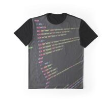 Code is Poetry Graphic T-Shirt