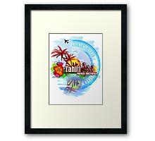 Tahiti french Polynesia Framed Print