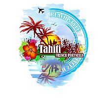Tahiti french Polynesia Photographic Print
