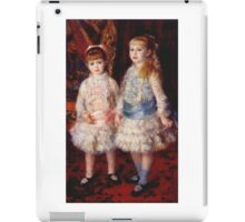 Renoir Auguste - Pink And Blue 1881 iPad Case/Skin