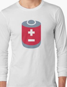 Battery icon Long Sleeve T-Shirt