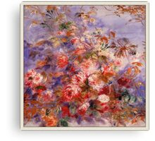 Renoir Auguste - Roses By The Window Canvas Print