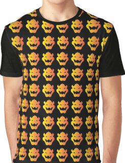Evil Bowser  Graphic T-Shirt