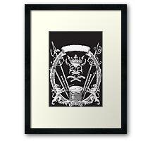 King Of Death Framed Print