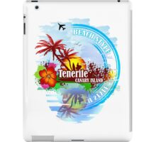 Tenerife Canary Island iPad Case/Skin