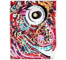 Crazy Eye Poster