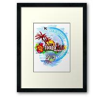 Tonga Polynesia Framed Print