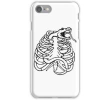 Cool snake & ribs iPhone Case/Skin