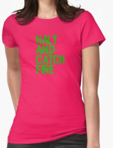 Halt and Catch Fire Womens Fitted T-Shirt