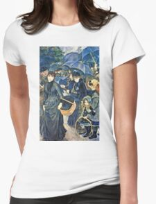 Renoir Auguste - The Umbrellas  Womens Fitted T-Shirt