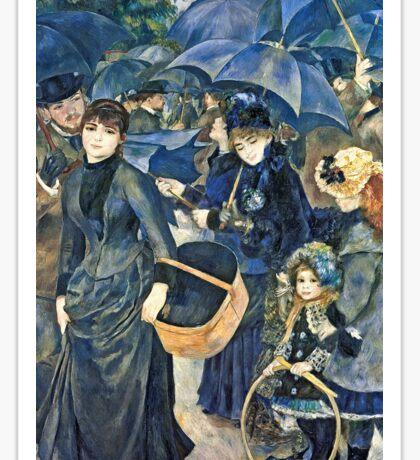 Renoir Auguste - The Umbrellas  Sticker