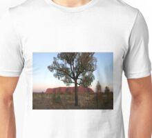Uluru and the Tree Unisex T-Shirt