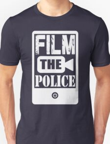 FILM THE POLICE (white) T-Shirt