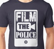FILM THE POLICE (white) Unisex T-Shirt