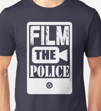FILM THE POLICE (white) Unisex T-Shirt