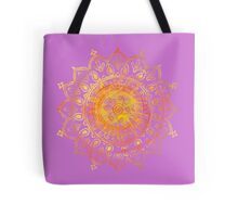 Decorative Indian Sun  Tote Bag