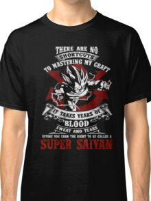 Super Saiyan Dragonball Classic T-Shirt