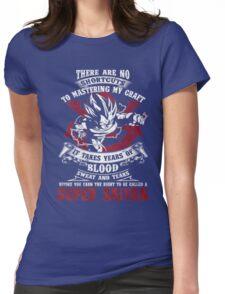Super Saiyan Dragonball Womens Fitted T-Shirt