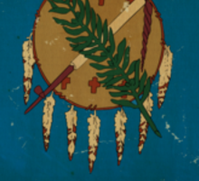 Oregon State Flag VINTAGE Sticker