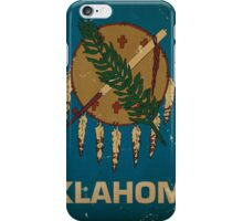 Oregon State Flag VINTAGE iPhone Case/Skin