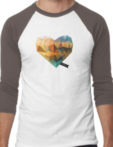 Vector Love 03 Men's Baseball ¾ T-Shirt