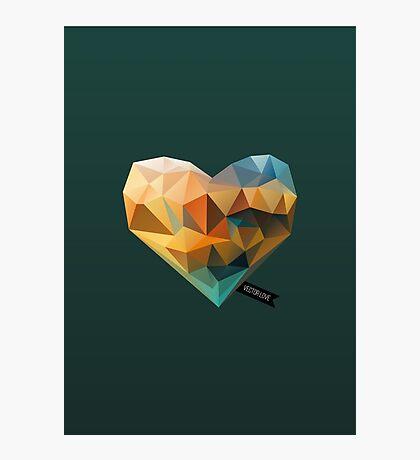 Vector Love 03 Photographic Print