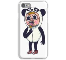 Panda Kid iPhone Case/Skin