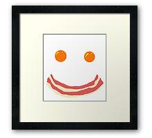 Breako face Framed Print