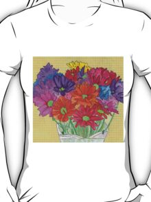 My Flowers in a Vase T-Shirt