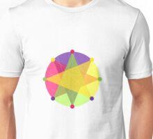 Crisscross Circle Unisex T-Shirt