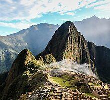 Machu Picchu by johnossenkop