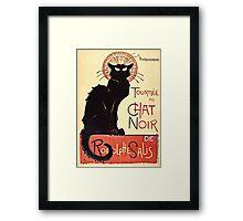Theophile Alexandre Steinlen - Tournee Du Chat Noir De Rodolphe Salis  Framed Print
