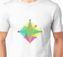 Crisscross Diamond Unisex T-Shirt