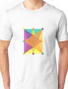 Crisscross Rectangle Unisex T-Shirt