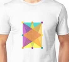 Crisscross Rectangle Unisex T-Shirt