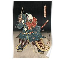 Utagawa Kunisada - An Actor In The Role Of Saitogo Kunitake  Poster