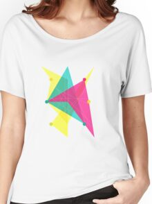 Abstract Polygon Women's Relaxed Fit T-Shirt