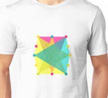 Crisscross Polygon Unisex T-Shirt