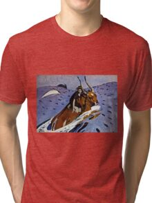 Valentin Serov - The rape of Europa (1910)  Tri-blend T-Shirt