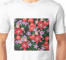 Oranges and flowers Unisex T-Shirt