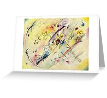 Vassily Kandinsky - Light Picture  Greeting Card