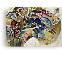 Vassily Kandinsky - Painting With White Border Moscow  Canvas Print