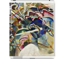 Vassily Kandinsky - Painting With White Border Moscow  iPad Case/Skin