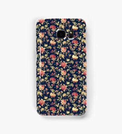 Dark Floral Phone Case Samsung Galaxy Case/Skin
