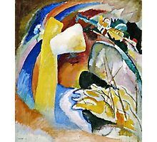 Vassily Kandinsky - Study For Painting With White Form1913  Photographic Print