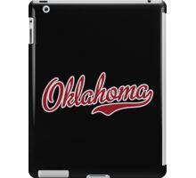Oklahoma Script Garnet iPad Case/Skin
