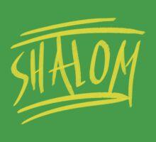 Shalom Baby Tee