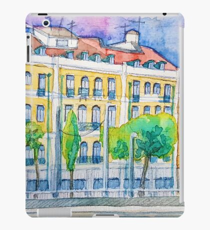 Lisboa Cidade da Luz. Lisbon City of Light. iPad Case/Skin